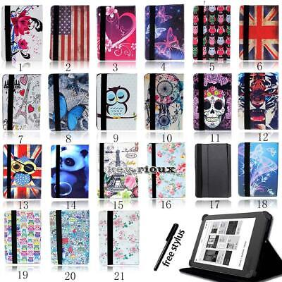 £4.99 • Buy Leather Stand Folio Cover Case For Various 6  7  10.1  Kobo EReader Tablet