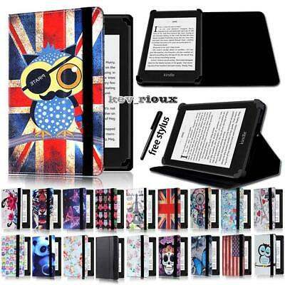 Leather Stand Flip Cover Case For Amazon Kindle 4/5//7/8/9 Paperwhite 1/2/3/4 • 4.99£