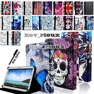 £5.99 • Buy Leather Tablet Stand Folio Cover Case For 7  8  10  Samsung Galaxy Tab 2/3/4