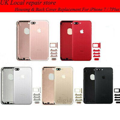 Original Metal Battery Back Housing Rear Cover Replacement For IPhone 7&7 Plus + • 12.89£