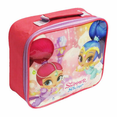 Girls Shimmer And Shine School Travel Insulated Character Lunch Picnic Box Bag • 5.95£
