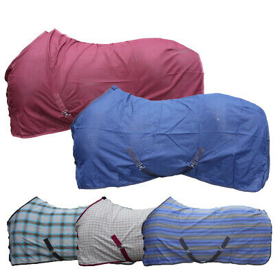 £19.95 • Buy SUMMER SHEET STABLE SHEET Choice Of Sizes And Colour! Cooler Stable Travel Rug
