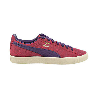 Puma Clyde Paisley Men's Shoes Barbados Cherry-Indigo-Whisper White 369279-01 • 61.68£