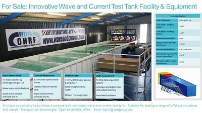 Wave And Current Scale Model Test Facility: Ship, Rig, Boat, Yacht, Energy, Tide • 25,000£