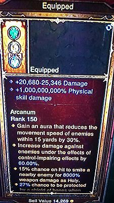£3 • Buy Diablo 3 Modded Ring High Damage 1,000,000,000% Damage Patch 2.4 Xbox One