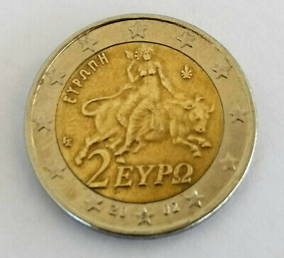 $ CDN7907.88 • Buy SPECIAL OFFER!! Greece 2002 | Rare 2 Euro Coin With  S  With Numerous Defects