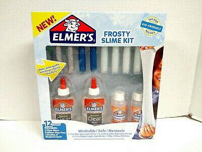 AU11.59 • Buy Elmer's Glue Frosty Slime Kit Craft STEM Projects New!