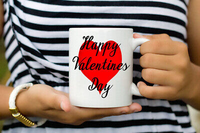 AU15.03 • Buy Happy Valentines Day Coffee Mug Ideal Valentines Gifts For Loved One For Him Her