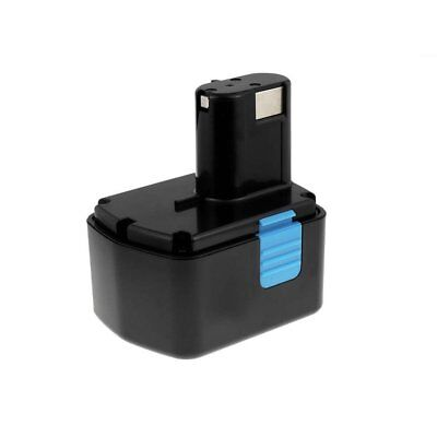 Battery For Power Tool Hitachi Cordless Impact Wrench WR14DMR 2400mAh NiMH 14,4V • 61.80£