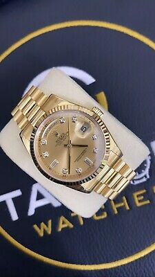 £21000 • Buy Rolex Day Date 118238 Diamond Champegne Dial Box & Paper 2008
