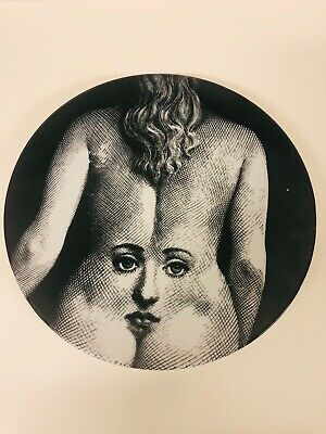 Fornasetti Tema E Variazioni Wall Plate No.300 Made In Italy • 125$