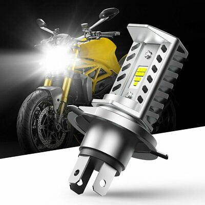 $17.32 • Buy AUXITO H4 9003 HB2 LED Bulb Hi/Lo Beam HID White Motorcycle Headlight High Power