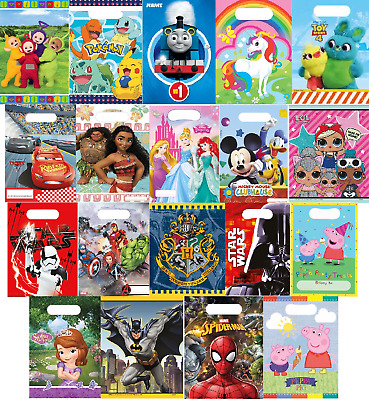 £1.69 • Buy Kids Disney Character Party Loot Bags Birthday Surprise Gift Accessories Pack