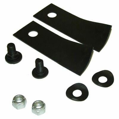 Blade & Bolt Set Of 2 Fits 18  20  Rover Lawnmower Rear Catcher Models • 14.99£
