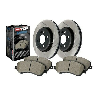 $276.12 • Buy StopTech Disc Brake Pad And Rotor Kit Front For Subaru, Saab 9-2X / 937.47001