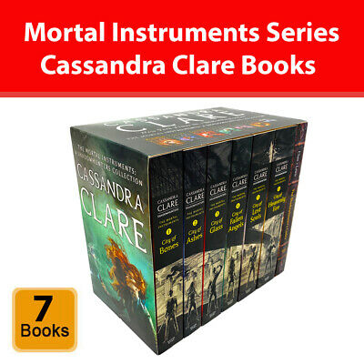Cassandra Clare The Mortal Instruments A Shadowhunters 7 Books Collection Set • 19.98£