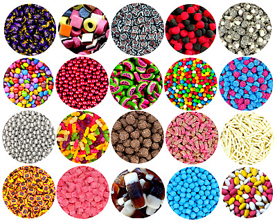 Pick N Mix RETRO SWEETS 200g Traditional Sweets HALLOWEEN 250 FLAVOUR CHOICES • 4.74£