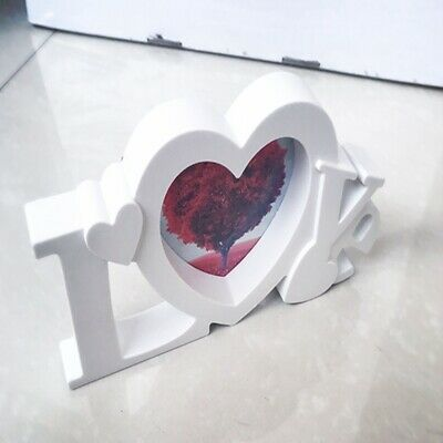 I Love You Photo Frame Picture White Loveheart Couple Valentines Day Gift ONE • 4.70£