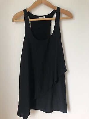 $ CDN20 • Buy Anthropologie Silence And Noise Shift Dress Black Size Small S Assymetrical