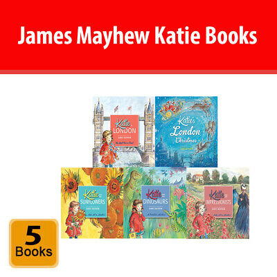 James Mayhew Katie 5 Books Collection Set Orchard Books Paperback NEW  • 19.99£