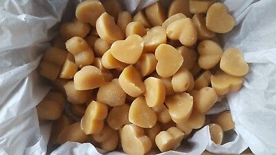£10 • Buy Handmade Scottish Tablet Hearts (Select Various Quantities) From 10 To 1000