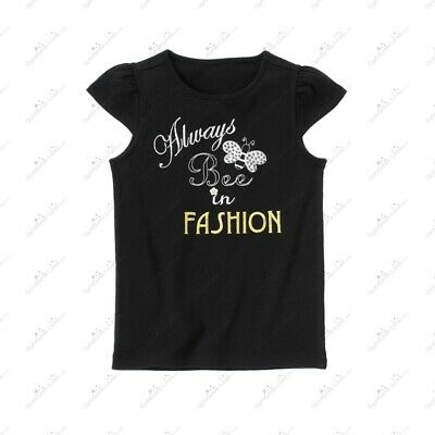 $26.99 • Buy Very Rare Nwt Gymboree Bee Chic Always Bee In Fashion Black Gem Tee Top Shirt