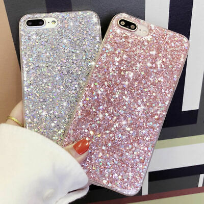 AU9.75 • Buy For IPhone 11 Pro Max 8 Plus XR XS Bling Glitter Silicone Shockproof Case Cover