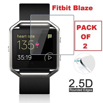 $ CDN4.02 • Buy 2x For Fitbit Blaze Tempered Glass LCD Screen Protector Cover Film Fitness Watch