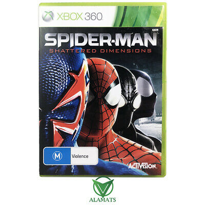 AU42.95 • Buy Spider-Man: Shattered Dimensions (Xbox 360)