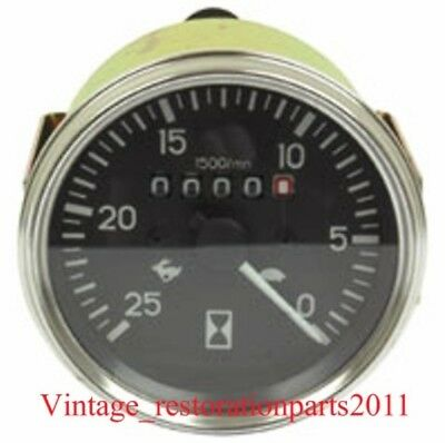 AU38.78 • Buy Aftermarket New Tachometer Gauge Chamberlain 6g 9g Tractor W Perkins L4 Engine