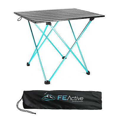 AU49.99 • Buy FE Active - Compact Folding Camping Table Lightweight Portable For Picnic Travel