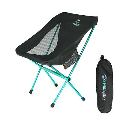 AU49.99 • Buy FE Active - Camping Chair Folding, Compact, Portable & Lightweight Travel Chair