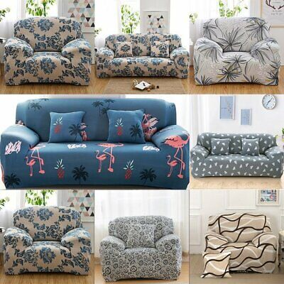 AU23.99 • Buy Universal Sofa Cover Elastic Seat Covers Stretch Couch Slipcover 1/2/3/4 Seater