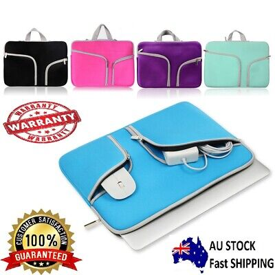 AU21.49 • Buy Laptop Sleeve Case Carry Bag For Macbook Pro/Air Dell Sony HP 11 12 13 14 15inch