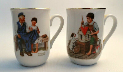 $ CDN14.99 • Buy Norman Rockwell Mugs Vintage The Lighthouse Keeper's Daugher A Dollhouse For Sis