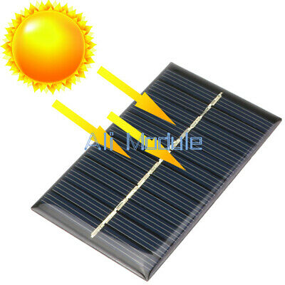 £16.48 • Buy New 6V 1W Solar Panel Module DIY For Light Battery Cell Phone Toys Chargers