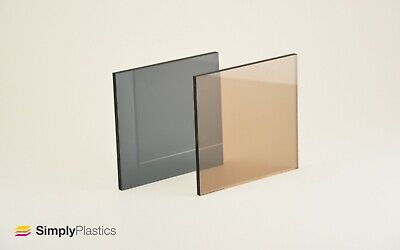 £6.14 • Buy Perspex® Neutrals Tinted Acrylic Plastic Sheet