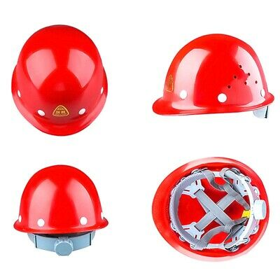 White/Red/Yellow/Blue Forester Aluminum Safety Helmet Hard Have Full Brim • 19.99$