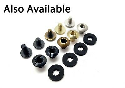£6.37 • Buy Chicago Screws Book Binding Posts - Leather Kydex Various Finishes 10pk