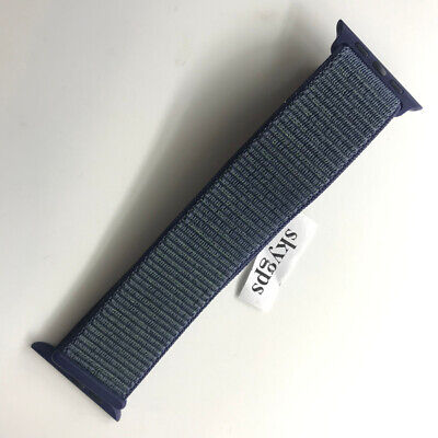 $ CDN70.76 • Buy Original Apple Watch Series 4 3 2 1 NIKE Sport Loop Band 42mm 44mm Midnight Fog