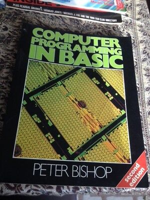 £5 • Buy Computer Programming In Basic 2nd Edition By Bishop, Peter Paperback Book