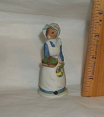 1985 Franklin Mint Woodmouse Family Figurine DAISY Replacement Addition Piece • 7.96$
