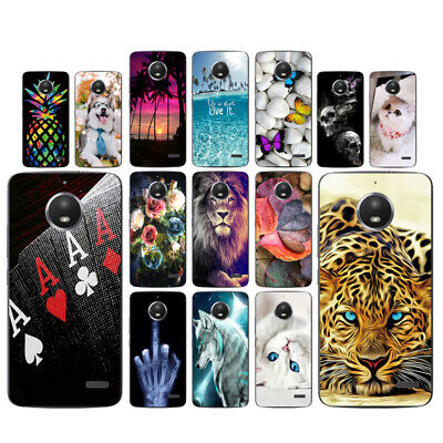 AU4.45 • Buy Clear Case For Motorola Moto E4 Soft TPU Silicone Phone Back Cover Views Skins