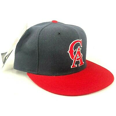 1d88a8a1 Vintage California Los Angeles Angels Of Anaheim New Era Pro 5950 Fitted Hat  • 28.00$