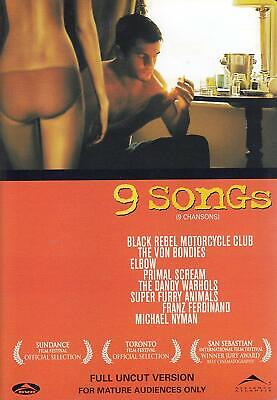 AU22.62 • Buy 9 Songs DVD - NEW IN WRAPPING