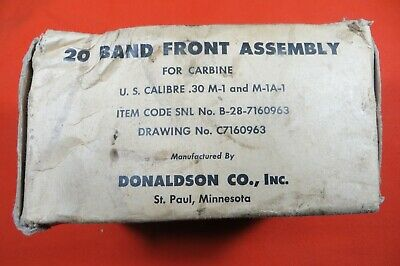 $85 • Buy M1 Carbine Barrel Band, Made By Donaldson Manufacturing Co.  -  Marked-D  (2705)