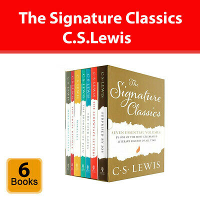 £16.44 • Buy C.S.Lewis Signature Classics Collection 6 Books Box Set Surprised By Joy PB NEW