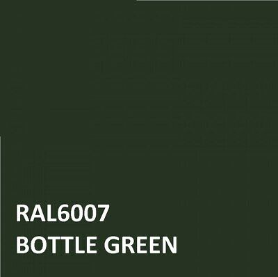 £16.45 • Buy RAL BOTTLE GREEN RAL 6007 Agricultural Tractor Machinery Enamel Gloss Paint