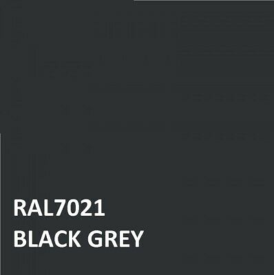 £16.45 • Buy RAL BLACK GREY RAL 7021 Agricultural Tractor Machinery Enamel Gloss Paint
