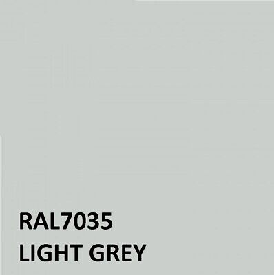 £21.95 • Buy RAL LIGHT GREY RAL 7035 Agricultural Tractor Machinery Enamel Gloss Paint